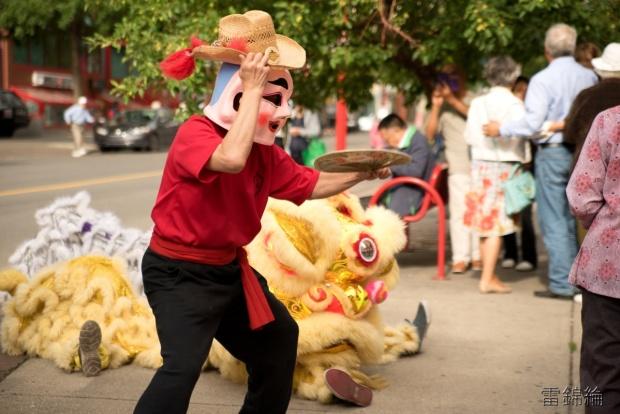 jing wo lion dance calgary 2016 chinese stampede breakfast chinatown