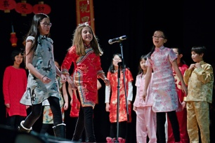 lion dance colonel irvine middle school chinese new year 2017 concert