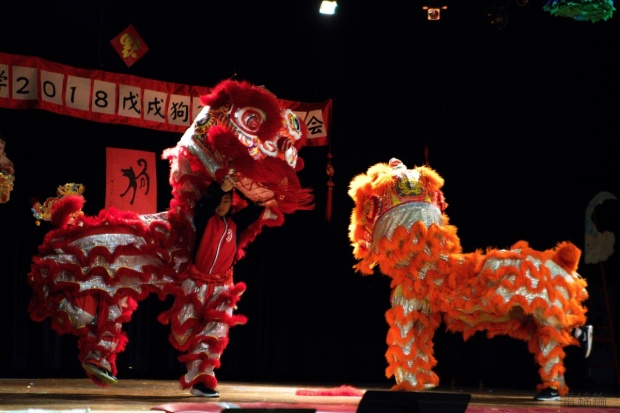 lion dance colonel irvine middle school chinese new year 2018 concert